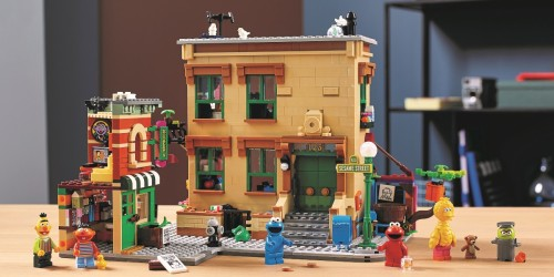 This Sesame Street LEGO Set for Grown-Ups is Already on Backorder