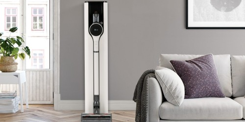 This New LG Cordless Vacuum Empties its Own Dustbin!
