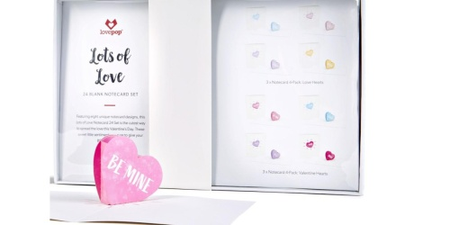 24 LovePop Notecards Just $24 Shipped ($120 Value) | Perfect for Valentine's Day