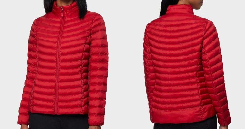 front and back view of a jacket
