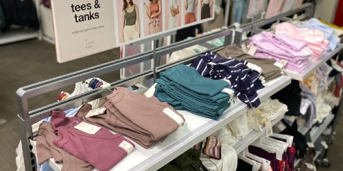 A New Day Women's Tees & Tanks Only $4 at Target   In-Store & Online