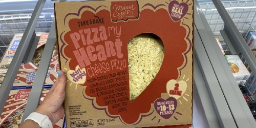 ALDI's Heart-Shaped Pizza Is The Perfect Valentine's Day Dinner & It's Just $4.99