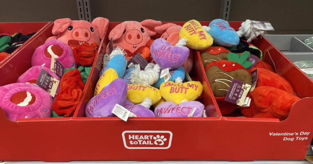 valentine pets toys at aldi