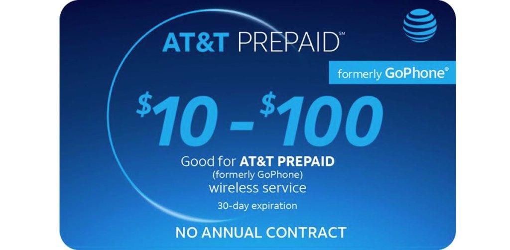 blue at&t prepaid phone card
