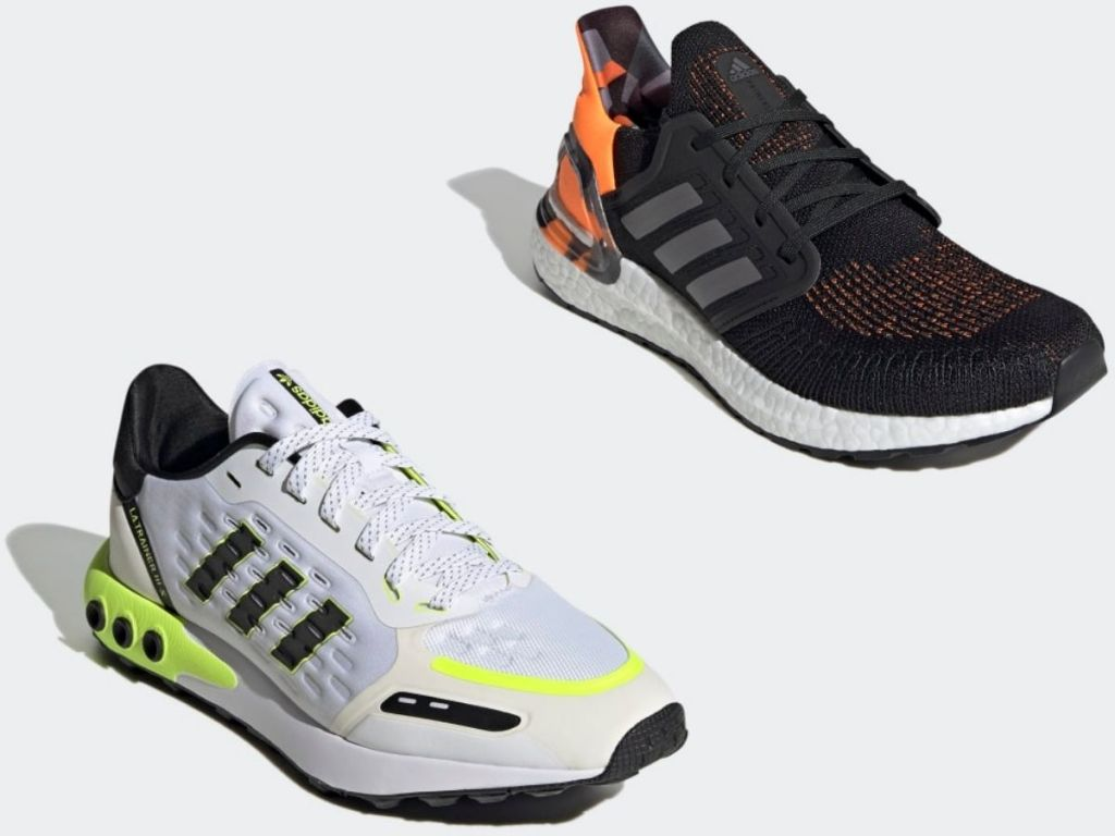 Two Adidas Men's Sneakers