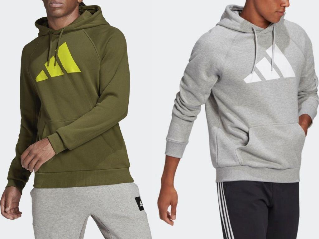 two adidas men's hoodies