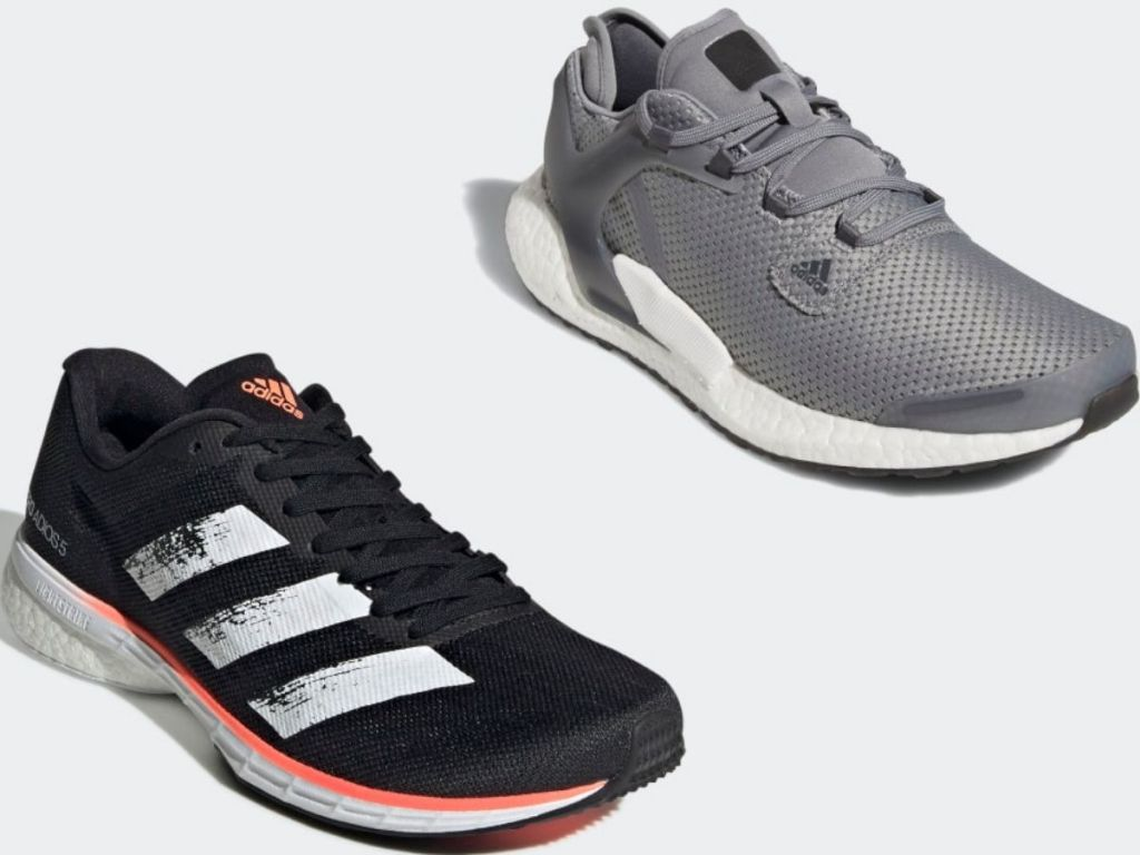 Two Adidas Sneakers for women and men