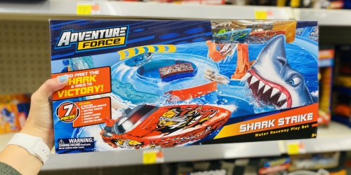 Adventure Force Shark Strike Water Raceway Play Set Only $9.97 on Walmart.com (Regularly $20)