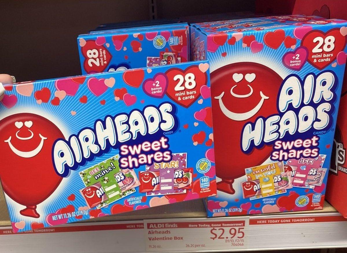 Airheads Valentine Box