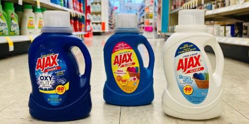Ajax Liquid Laundry Detergent 40oz Only 99¢ at Walgreens