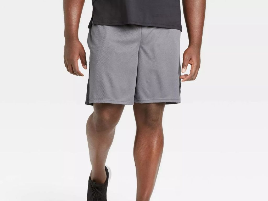 All In Motion Tech Shorts in gray