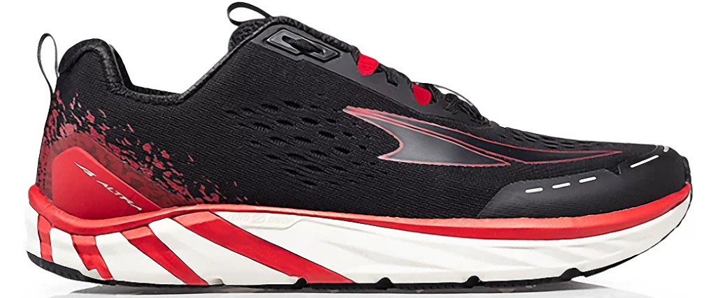 black and red mens sneaker