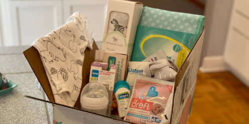 Expecting? Score a FREE Amazon Baby Welcome Box Filled w/ Gifts ($35 Value!)
