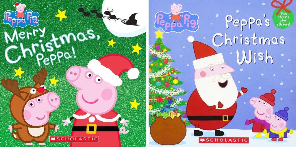 Merry Christmas, Peppa! & Peppa's Christmas Wish books