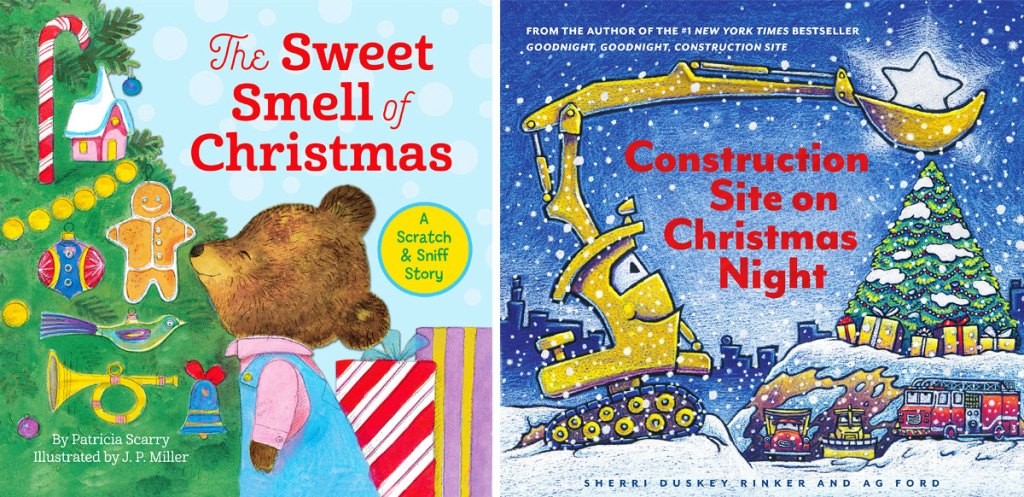 The Sweet Smell of Christmas & Construction Site on Christmas Night books