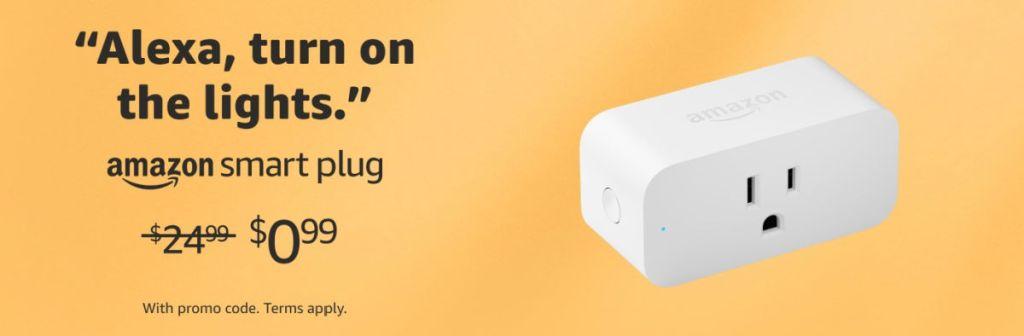 Amazon Echo Plug Promo Code on Amazon