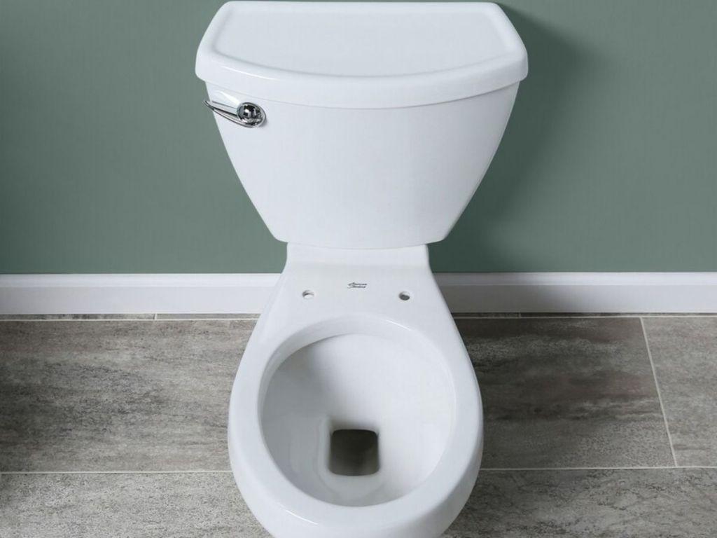 American Standard White Toilet