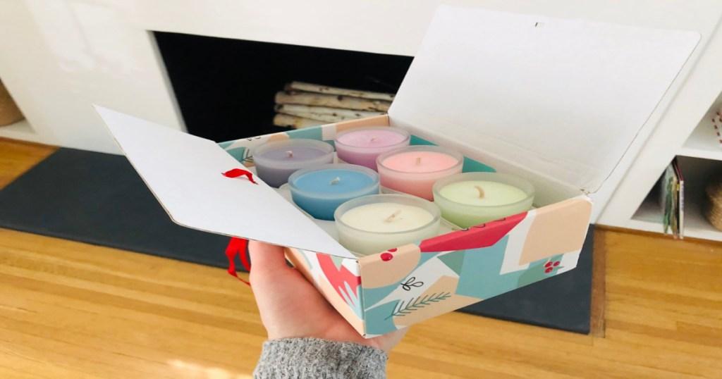 candles gift set
