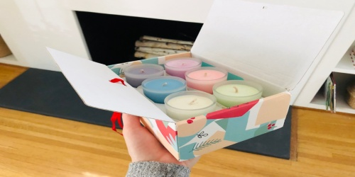 Scented Candles 6-Piece Gift Set Only $11.99 on Amazon   Great Mother's Day Gift Idea