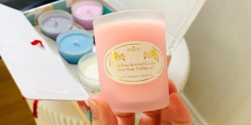 Scented Candle 6-Piece Gift Set Only $11.99 on Amazon   Thoughtful Gift Idea