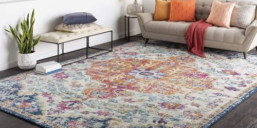 5×7 Area Rug Only $58 Shipped on Amazon