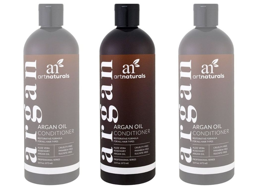 3 bottles of Artnaturals Argan Oil Conditioner