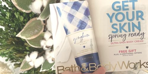 New Bath & Body Works Mailer w/ FREE Gift Offer & Rare 20% Off Entire Purchase Coupon
