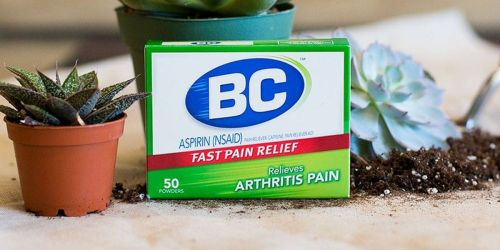 BC Arthritis Formula Powder 50-Count Box Only $3.29 Shipped on Amazon | Fast Pain Relief