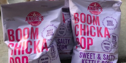 BOOMCHICKAPOP Kettle Corn 7oz Bag 12-Pack Only $22.50 Shipped on Amazon   Just $1.88 Each
