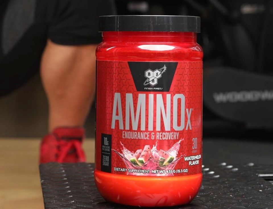 BSN AminoX container