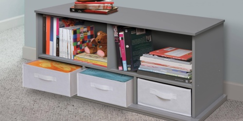 Storage Cubby w/ 3 Baskets from $63.62 (Regularly $116) | Free Shipping for Select Kohl's Cardholders