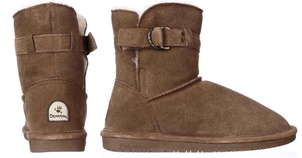 2 views of Bearpaw Tessa Boots