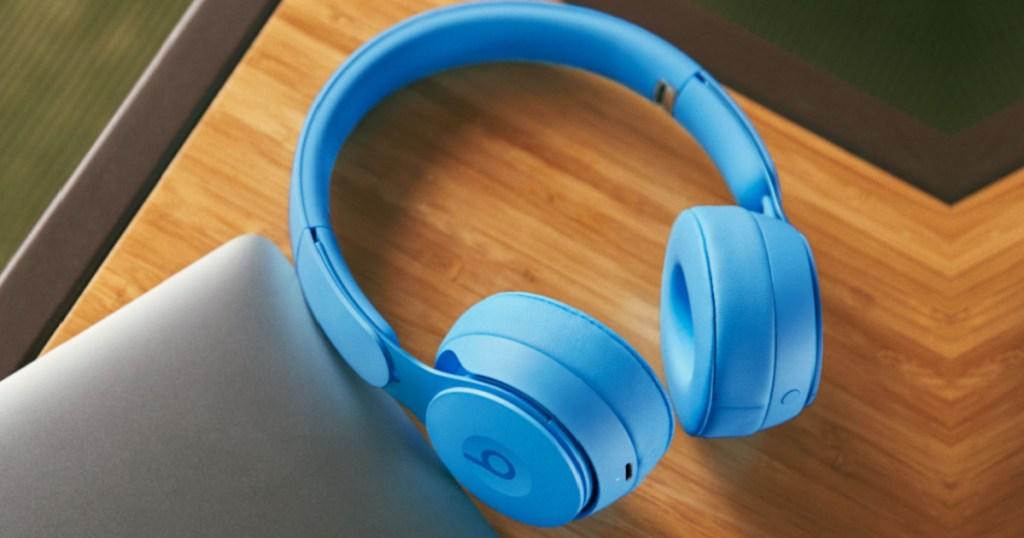 Light Blue Beats by Dr. Dre Solo Headphones