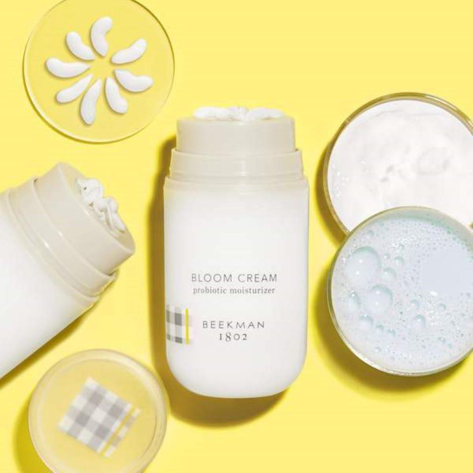 Beekman Bloom Cream bottles