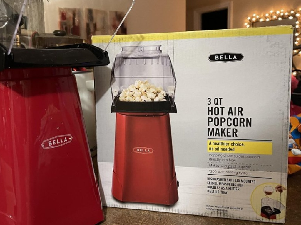bella red popcorn maker