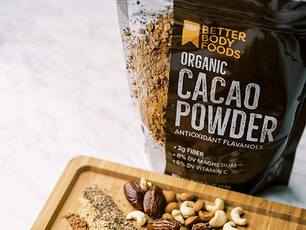 BetterBody Foods Organic Cacao Powder 16-Ounce