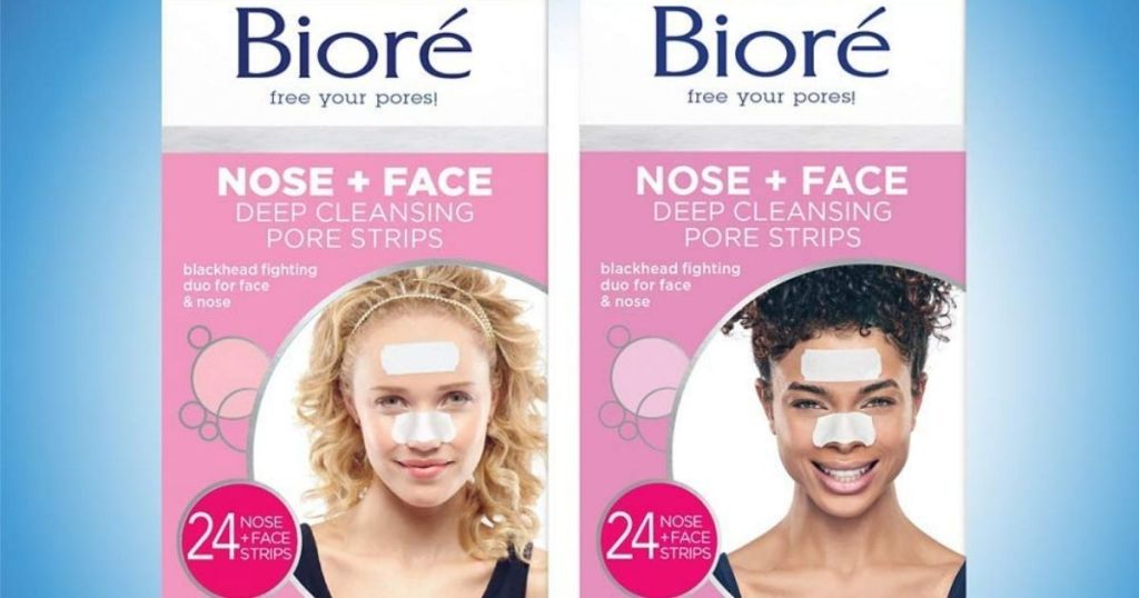 2 packages Biore Nose and Face Strips