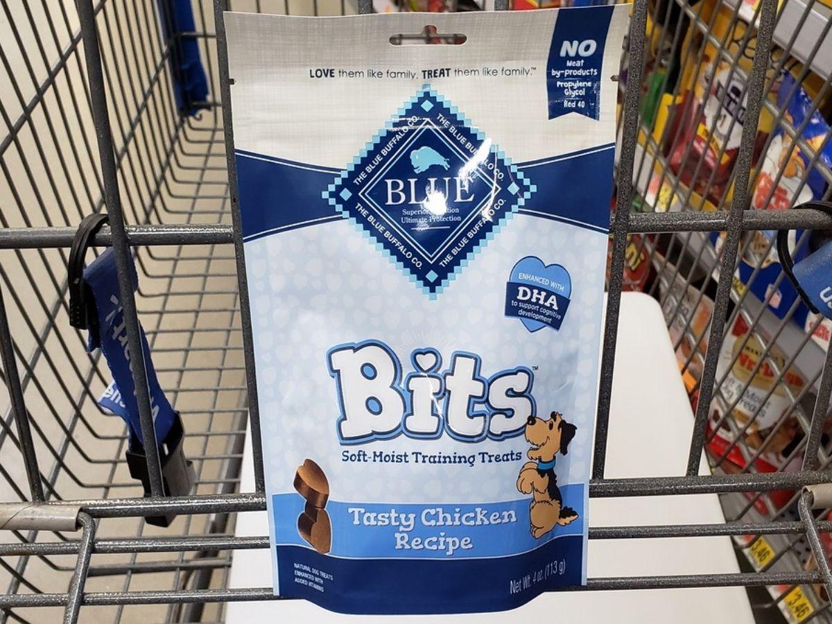 Blue Buffalo Bits dog Treats
