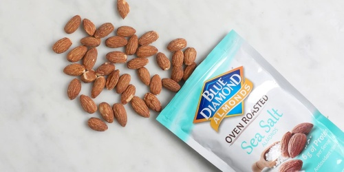 Blue Diamond Almonds 1-Pound Bags from $5.99 Shipped on Amazon