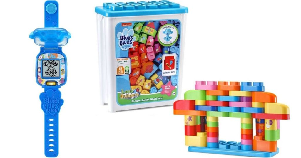 Blues Clues Watch and Blocks