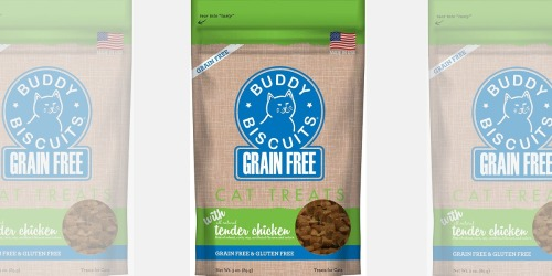 Buddy Biscuits Grain-Free Cat Treats Only $1.42 Shipped on Amazon