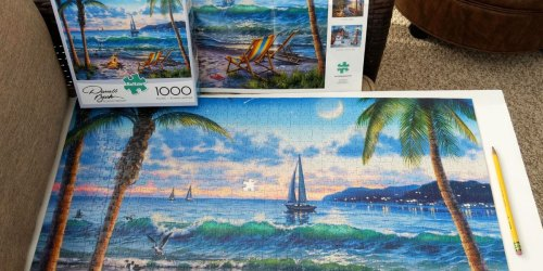 Buffalo Games 1,000-Piece Jigsaw Puzzles Just $9.97 on Amazon