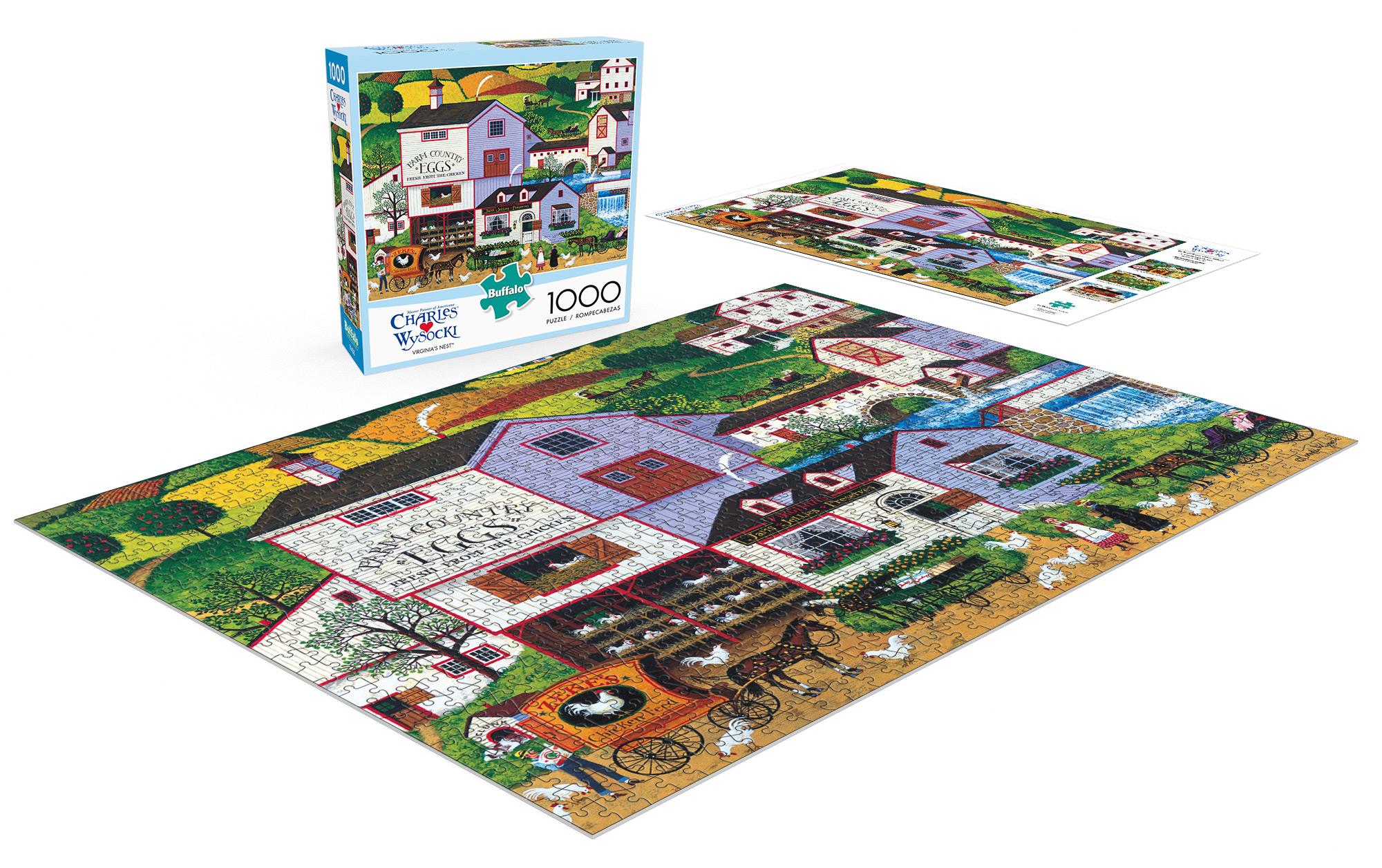 Buffalo Virginia Puzzle