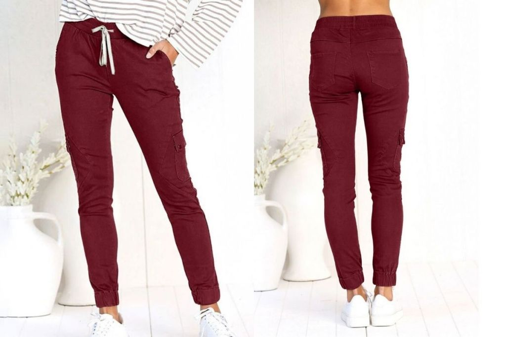 front and back of Camisa Red Joggers