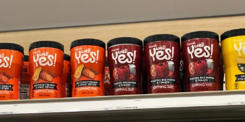 Campbell's Well Yes! Sipping Soup 8-Pack from $9 Shipped on Amazon (Regularly $16)