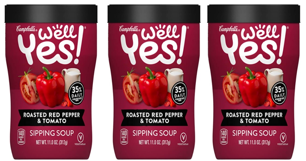 3 campbell's well yes! sipping soups