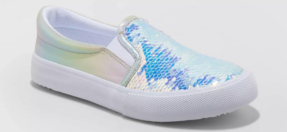 Cat Jack Sequin Sneakers