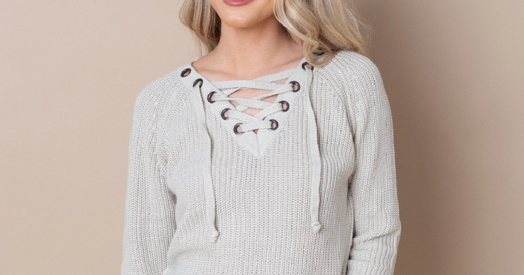 Cents of Style Top on woman
