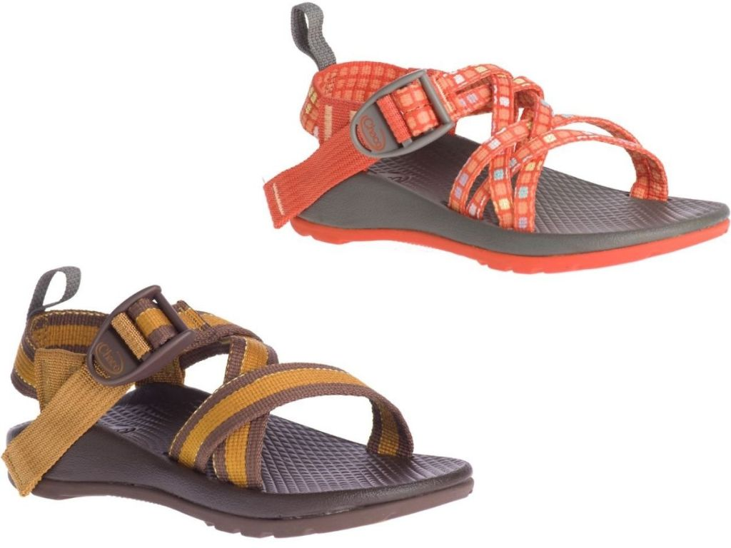 two Chaco kids sandals