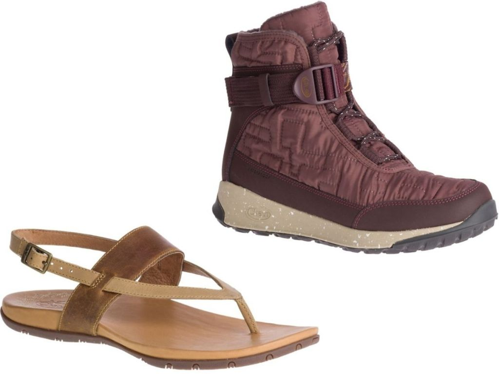 Chaco Womens sandal and boot